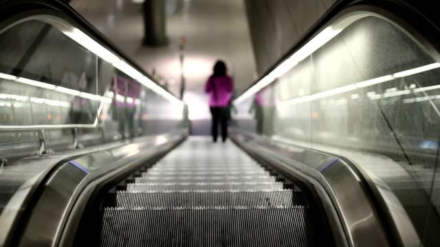 Rolltreppe – Blick nach unten bewegen
