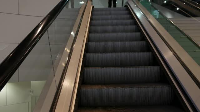 4K moving escalator up