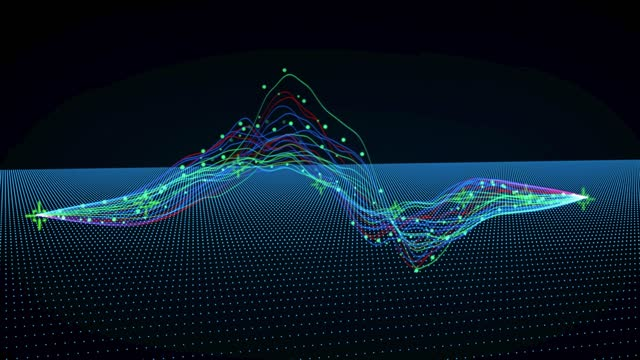 3d moving financial curve graph chart, downtrend uptrend, stock exchange bull market, black color monitor, economy background, currency exchange, bitcoin, cryptocurrency, bar, circles and technical lines - bull market stock videos & royalty-free footage