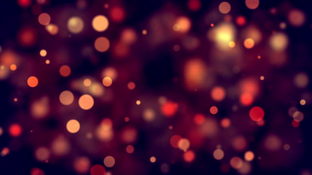 moving glitter lights, defocused light reflections loopable bokeh background stock video - spotted stock videos & royalty-free footage