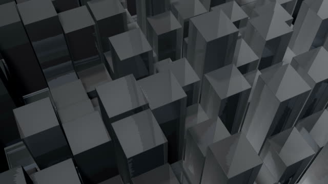 moving grey blocks - contracting stock videos & royalty-free footage