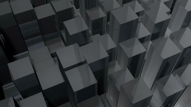 Moving grey blocks