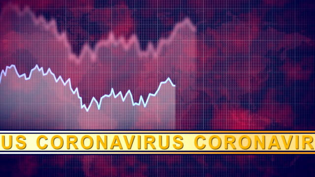 vídeos de stock, filmes e b-roll de gráfico gráfico de informações móveis e banner de vírus corona, vídeo 4k - moving activity