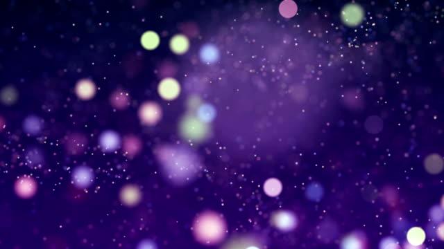 移動粒子ループ - 抽象的な背景 - 滑らか点の映像素材/bロール