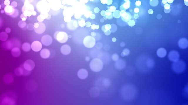 Mouvement des particules bride bleu rose