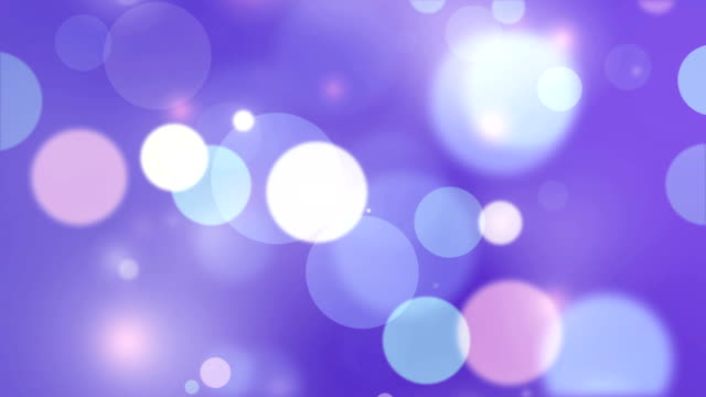 moving particles loop - purple shiny bokeh background - purple stock videos & royalty-free footage