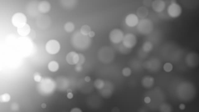 moving particles - side glow silver (hd 1080) - grayscale stock videos and b-roll footage