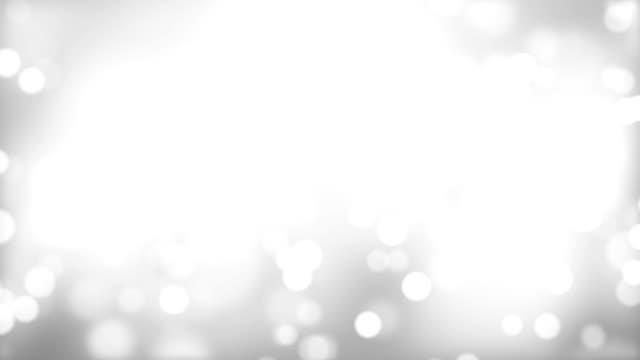 移動の粒子ホワイト(HD 1080