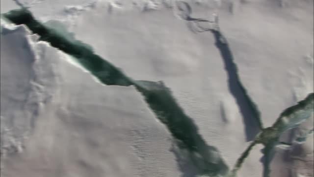 CU Moving past broken sea ice/ North Pole