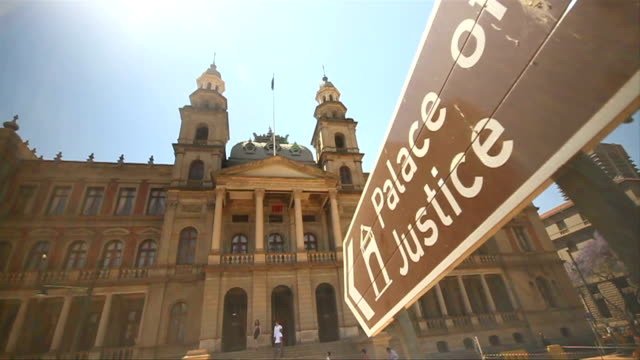 L/A Moving Shot Palace of Justice/ Pretoria/ South Africa