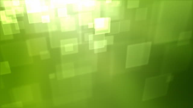 moving square particles loop - green (hd 1080) - square stock videos & royalty-free footage