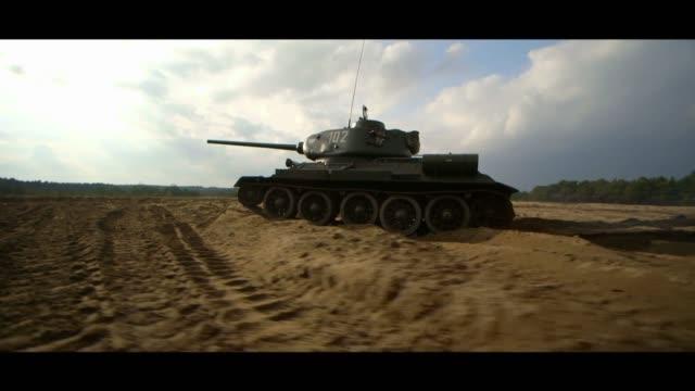 moving tank - matte stock videos & royalty-free footage
