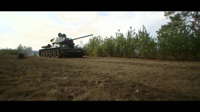 moving tank - matte image technique stock videos & royalty-free footage