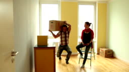 Moving the commode