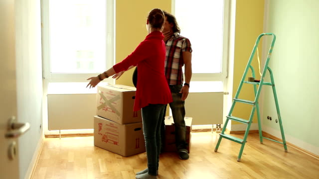 Moving to new apartment
