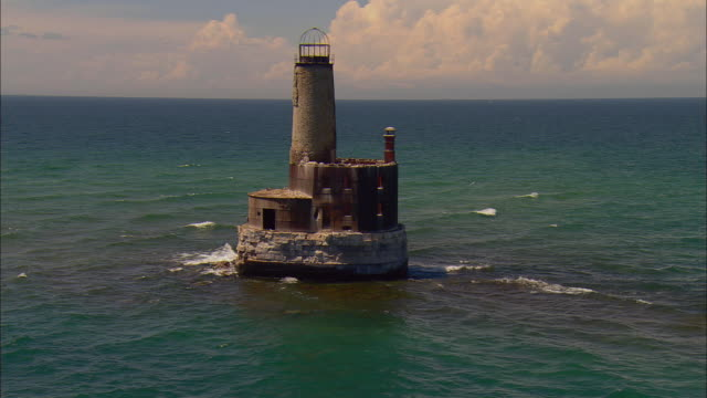 Image result for Waugoshance Lighthouse, Michigan: