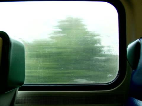 CU, Moving train interior, Chappaqua, New York State, USA
