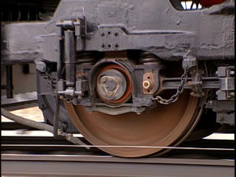 ecu, zo, ms, moving train, pueblo, colorado, usa, - pueblo colorado stock videos & royalty-free footage