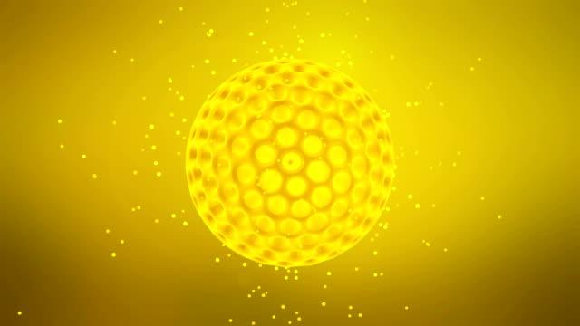 ウイルスのセルを移動 - t細胞点の映像素材/bロール