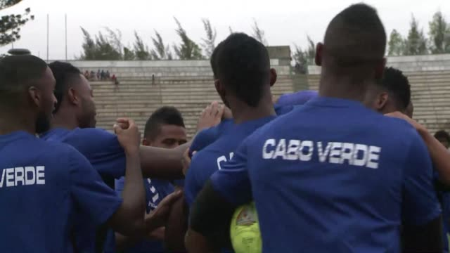 mozambique looks to put an end to cape verdes winning start when the two sides meet in a 2015 caf africa cup of nations qualifier at the estadio de... - qualification round stock videos & royalty-free footage