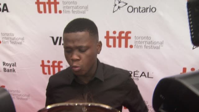 mpho koaho black and white premiere 2014 toronto international film festival at roy thomson hall on september 06 2014 in toronto canada - toronto international film festival stock videos and b-roll footage