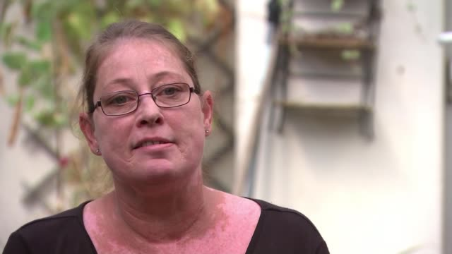 mps and charities call for extension to ban on home evictions england london int various of nichola mcclean chatting to reporter as along through... - forbidden stock videos & royalty-free footage