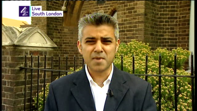 Mackay and Viggers to stand down ENGLAND London EXT Sadiq Khan MP interview SOT Talks of the way Labour MPs have reacted to the expenses row / talks...