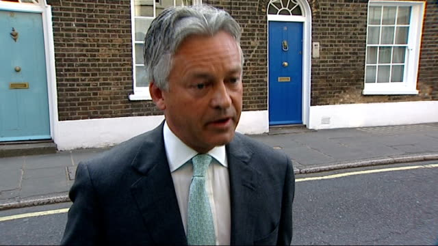 mps' expenses row gordon brown's apology does little to dispel public outrage london ext alan duncan mp interview sot i understand why people are... - alan duncan stock-videos und b-roll-filmmaterial