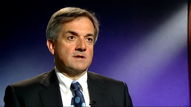 mps' pledge to pay money back; chris huhne mp interview sot - クリス ヒューン点の映像素材/bロール