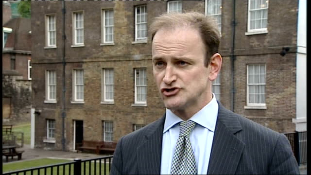 mps' expenses row speaker martin to resign westminster ext douglas carswell mp interview sot saying when he started campaign to remove martin as... - house of commons stock videos and b-roll footage