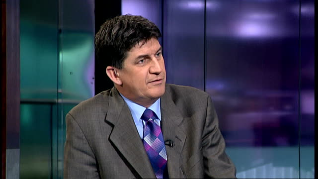 mps' expenses scandal: david chaytor sentenced to 18 months; england: london: gir: int jonathan aitken studio interview sot - discusses david... - 不祥事点の映像素材/bロール