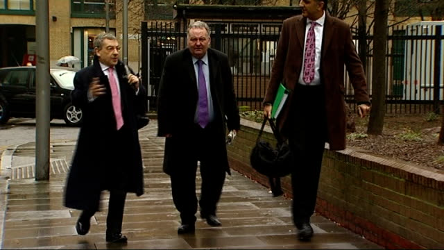 mps' expenses scandal jim devine convicted of false accounting / eric illsley sentenced to 12 months in prison england london southwark crown court... - mp stock videos & royalty-free footage