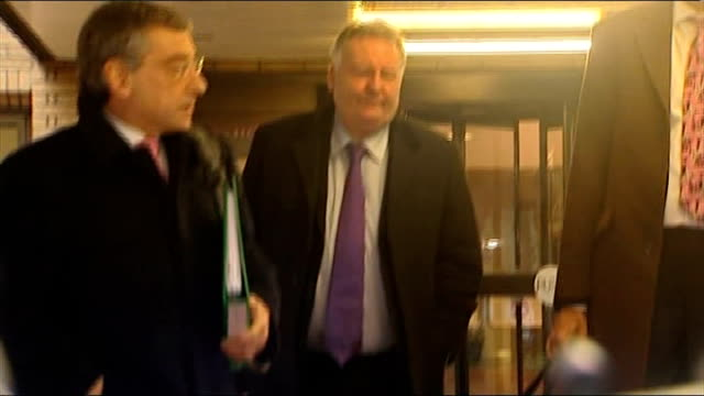 mps' expenses scandal jim devine convicted of false accounting / eric illsley sentenced to 12 months in prison reporter to camera photography**... - parlamentsmitglied stock-videos und b-roll-filmmaterial