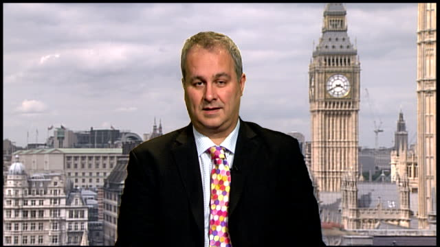 mps' expenses scandal julie kirkbride and margaret moran to step down int iain dale interview sot sequence showing mps faces superimposed onto game... - game of chance stock videos & royalty-free footage