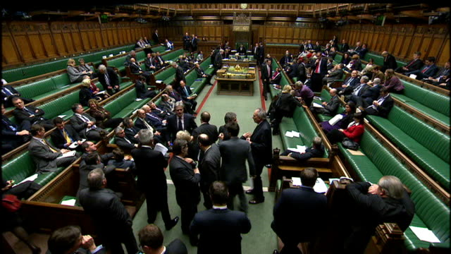 mps' expenses scandal new ipsa payment system criticised house of commons int bob russell mp addressing house during debate sot what action is there... - debate stock videos & royalty-free footage