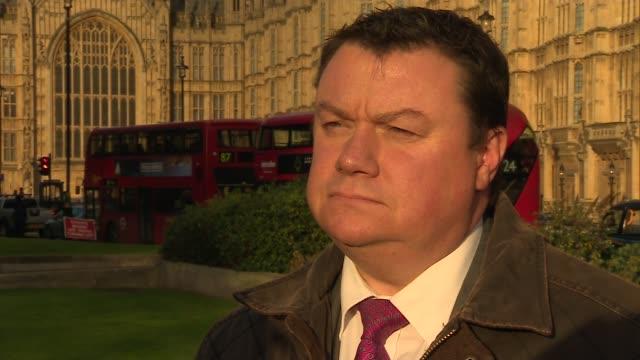 London Westminster EXT Stephen McPartland MP interview SOT / Steve White interview SOT / Mark Garnier MP interview SOT