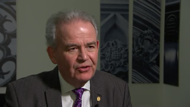 MPs warn cuts to the Royal Marines would undermine UK security ENGLAND London INT Dr Julian Lewis MP interview SOT