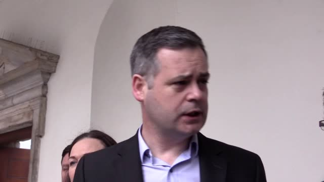 mr doherty said the party will meet again with the green party next week following their government formation discussions on tuesday and they are... - organised group stock videos & royalty-free footage