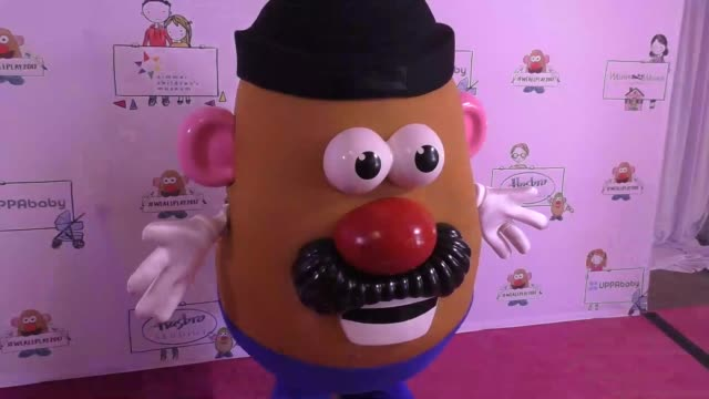 Mr Potatohead at the Zimmer Children's Museum Event on April 30 2017 in Los Angeles California