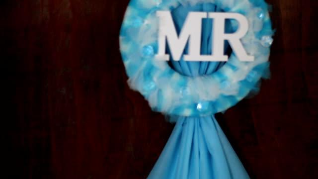 Mr - bruiloft teken