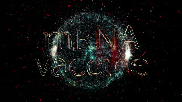 mrna vaccine title animation - rna virus stock videos & royalty-free footage