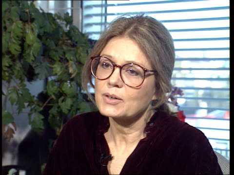'Ms' magazine launched ENGLAND London ITN CMS Gloria Steinem intvwd SOF magazine doesn't cost too much / 'feminist' tag shouldn't put people off /...