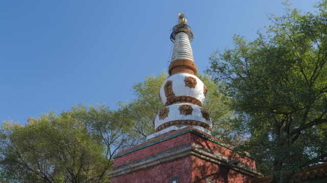 MS_Stupa_against clear sky, Summer Palace, UNESCO World Heritage Site, Beijing, China