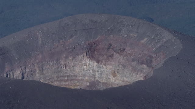 AERIAL, Mt Asama, Gunma And Nagano, Japan