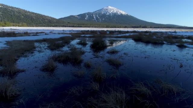 マウント・バチェラー - オレゴン州クレーター湖点の映像素材/bロール