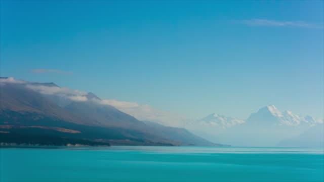Mt. Cook and Lake Pukaki ,New Zealand
