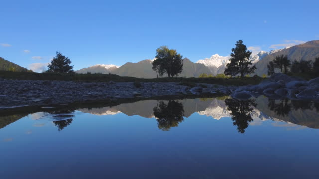 Mt Cook & Mt Tasman Reflection.