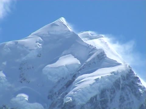 mt. cook - snowcapped mountain stock videos and b-roll footage