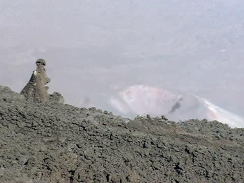 stockvideo's en b-roll-footage met mt etna lava flow, 1 may 1999, sicily, italy. - watervorm