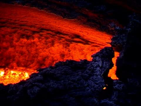 Mt. Etna Lava flow, Sicily, Italy.